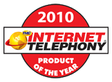 --Image: Internet Telephony 2010 Product of the Year! --