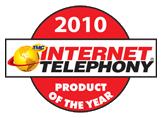 --Image: Internet Telephony 2010 Product of the Year! --