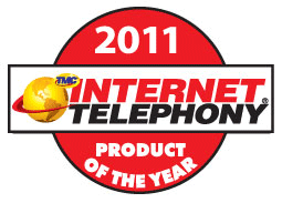 --Image: Internet Telephony 2011 Product of the Year! --