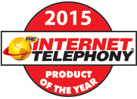 Internet Telephony 2015 Product of the Year Award