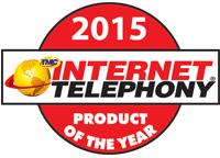 Internet Telephony 2015 Product of the Year Award