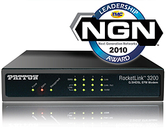 --Image: Patton RocketLink 3200 wins NGN Leadership Award --
