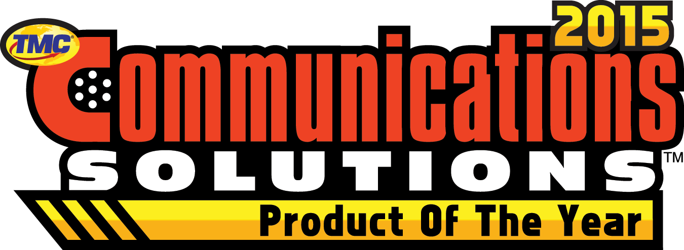 COMMUNICATIONS SOLUTIONS 2015 Product of the Year Award