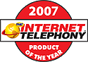 --Image: Internet Telephony 2007 Product of the Year --
