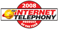 Internet Telephony 2008 Product of the Year