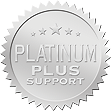 -- image PLATINUM PLUS Premium Support seal --