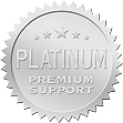 -- image PLATINUM Premium Support seal --