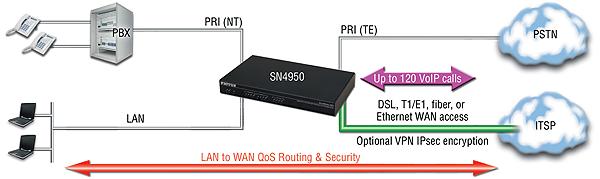 SmartNode 4950 application diagram