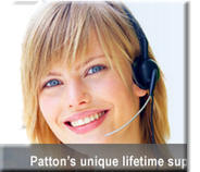 patton unique lifetime support