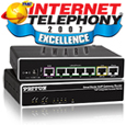 Patton's SmartNode™ 4652 Wins INTERNET TELEPHONY 2007 Excellence Award