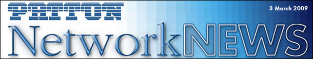PATTON NetworkNews 3 March 2009