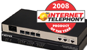 Photo of SmartNode� 4961with TMC INTERNET TELEPHONY 2008 Product of the Year Award