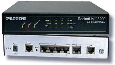 photo of Patton's RocketLink 3200 G.SHDSL EFM Modem