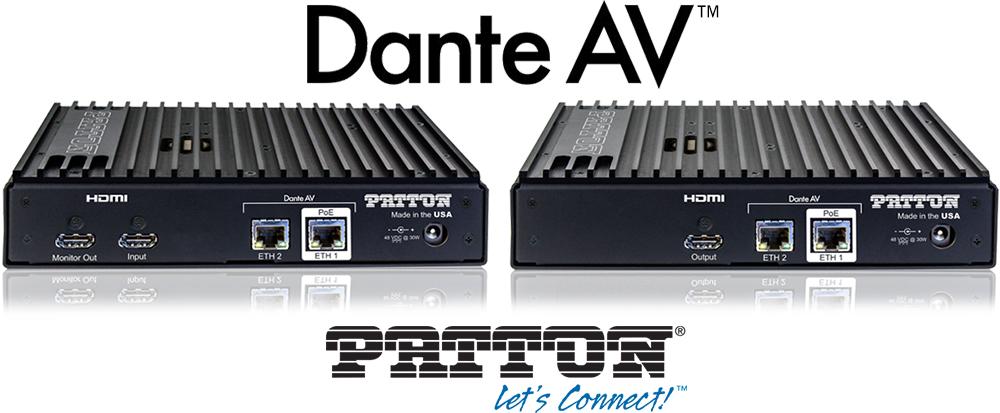 Dante AV and Patton - FPX6000 AVoIP Gateway