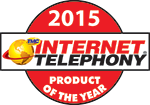 Internet Telephony Product of the Year 2015  Medallion