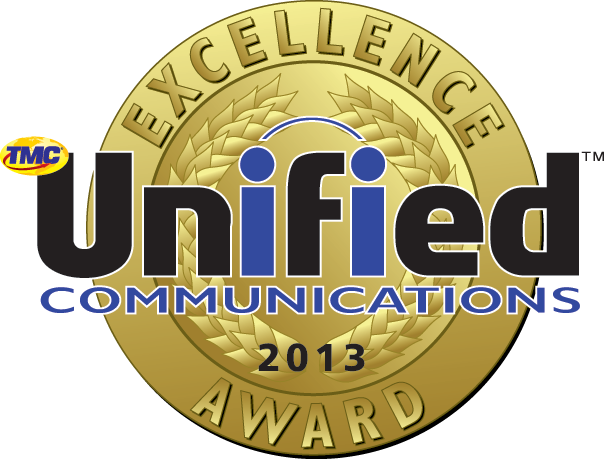MEDALLION - 2013 Unified Communications Excellence Award