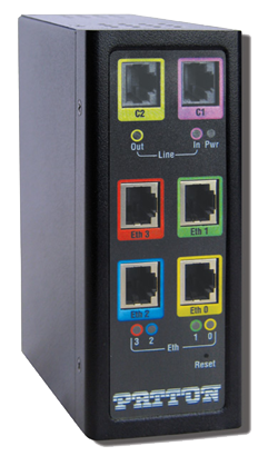 photo of CopperLink CL1314MDE Ruggedized Multi-Drop Ethernet Extender and Repeater