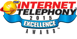INTERNET TELEPHONY 2015 Excellence Award