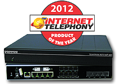 SmartNode 4670 ADSL VoIP IAD - 2012 Internet Telephony PRoduct of the Year