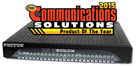 SmartNode 5530 - Communications Solution of the Year Award