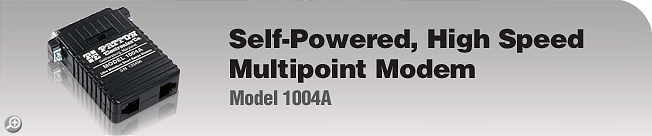 Model 1004A Self-Powered, High Speed, Multipoint Modem
