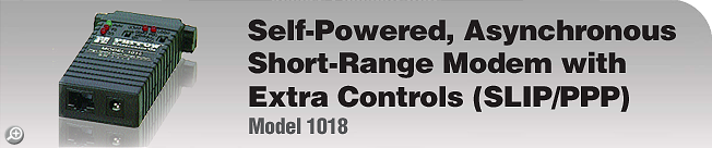 Model 1018 This legacy product is EOL. For product replacement alternative, please see Patton's Model 1040 or 1080A.