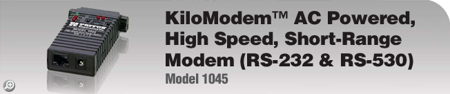 Model 1045 This legacy product is EOL. For product replacement alternative, please see Patton�s Model 1040 or 1080A.