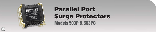 Model 503P & 503PC Parallel Port, Surge Protectors