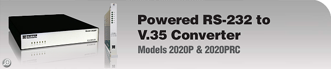 Model 2020P & 2020PRC This legacy product is EOL. For product replacement alternative, please see Patton's Model 2020.