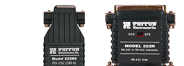 Patton Model 222N Series Interface-Powered RS-232 to RS-422