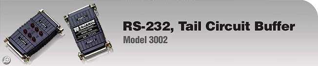 Model 3002 RS-232, Tail Circuit Buffer