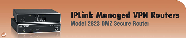 IPLink� Model 2823 Managed DMZ Secure Router