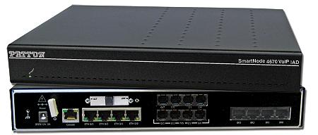 Photo of SmartNode™ 4670 BRI/FXS/FXO VoIP IAD