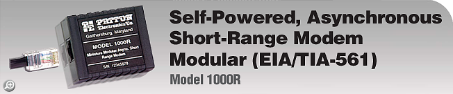 Model 1000R This legacy product is EOL. For product replacement alternative, please see Patton�s Model 1000.