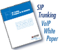 New Whitepaper - SIP Trunking - VoIP Telephony for the Enterprise